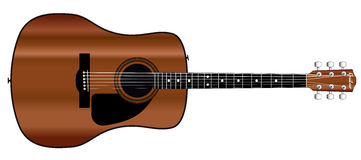 Acoustic Guitar. Stock Image