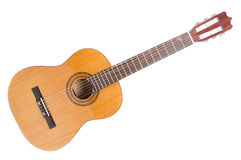 Acoustic guitar. On white background Stock Photo