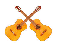Acoustic guitars. Royalty Free Stock Image