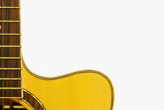 Acoustic guiter Royalty Free Stock Photography