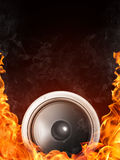 Acoustic Loudspeaker Royalty Free Stock Photography