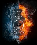Acoustic Loudspeaker Stock Photo