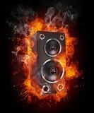 Acoustic Loudspeaker Royalty Free Stock Photo