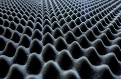 Acoustic Panel Texture. Grey acoustic panel texture with light Royalty Free Stock Image
