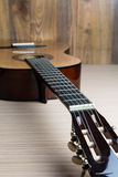 Acoustic six-string guitar Royalty Free Stock Image