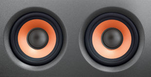 Acoustic speaker Stock Images