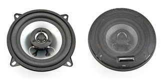 Acoustic speakers Royalty Free Stock Photo