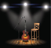 Acoustic stage Stock Photos