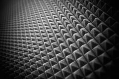 Acoustic Studio Foam Wall Royalty Free Stock Photo