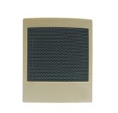 Acoustic system. Small computer acoustic system, one element on a white background Royalty Free Stock Photo