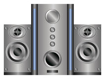 Acoustic system Stock Photos