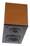 Acoustic system with two speakers Stock Images