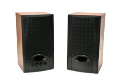 Acoustic systems Stock Images