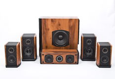 Acoustic systems Stock Photography
