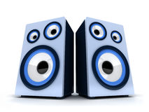 Acoustic systems Royalty Free Stock Photography