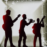 Acoustic Trio Background Royalty Free Stock Images