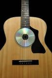 Acoutic gitarr Arkivbilder