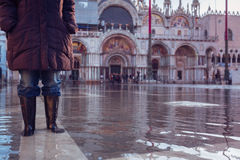 Acqua亚尔他在威尼斯 库存图片