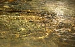 Acqua alla cascata Fotografia Stock Libera da Diritti