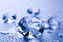 Acqua & diamante fotografie stock