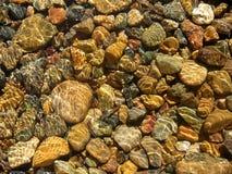 Acqua & pietra Fotografia Stock Libera da Diritti