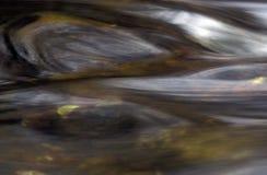 Acqua astratta orizzontale. fotografia stock