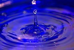 Acqua blu Immagine Stock Libera da Diritti