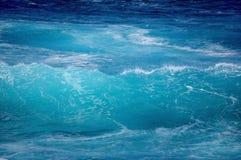 Acqua blu Immagini Stock