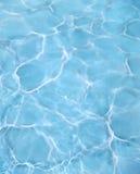 Acqua blu del raggruppamento Fotografia Stock