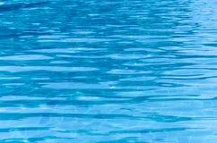 Acqua blu nella piscina Immagine Stock Libera da Diritti