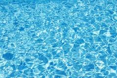 Acqua blu scintillante Immagini Stock