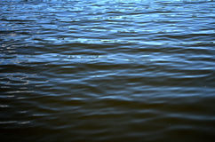 Acqua calma del lago Immagini Stock