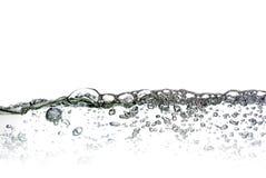 Acqua con le bolle fotografia stock libera da diritti