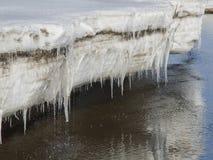 Acqua congelata Immagine Stock Libera da Diritti