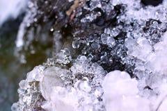 Acqua congelata Immagine Stock