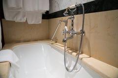 Acqua Crane Bathroom immagine stock