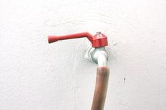 Acqua d'ottone Fotografia Stock Libera da Diritti