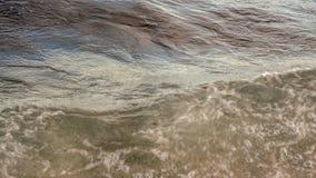 Acqua dalla spiaggia fotografia stock