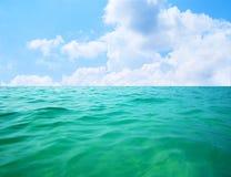 Acqua degli oceani Fotografie Stock Libere da Diritti