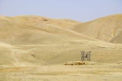 Acqua del deserto Fotografia Stock