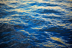 Acqua del fiume di Neva Immagine Stock