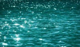 Acqua del lago che scintilla Fotografie Stock