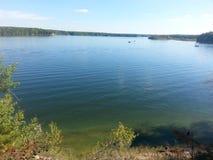 Acqua del Michigan Fotografia Stock Libera da Diritti