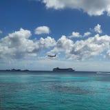 Acqua dell'aeroplano Immagine Stock Libera da Diritti