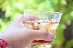 Acqua della bevanda Fotografie Stock