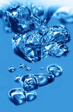 Acqua della bolla immagini stock