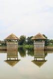 Acqua della centrale del padiglione. Fotografie Stock