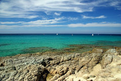 Acqua della Corsica Immagini Stock Libere da Diritti