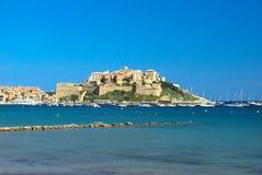 Acqua della Corsica Fotografie Stock Libere da Diritti