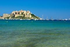 Acqua della Corsica Fotografia Stock Libera da Diritti
